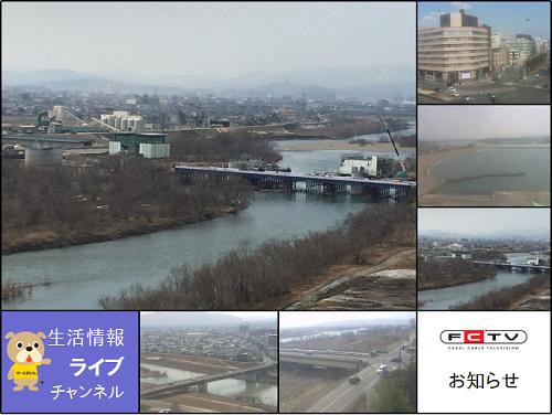 増設するカメラ映像を挿入したライブチャンネル画像イメージ
